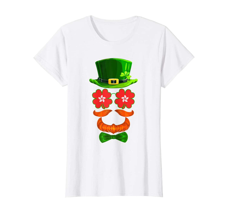 Hong King Flag Shamrock Leprechaun St Patricks Day T-Shirt-Yolotee