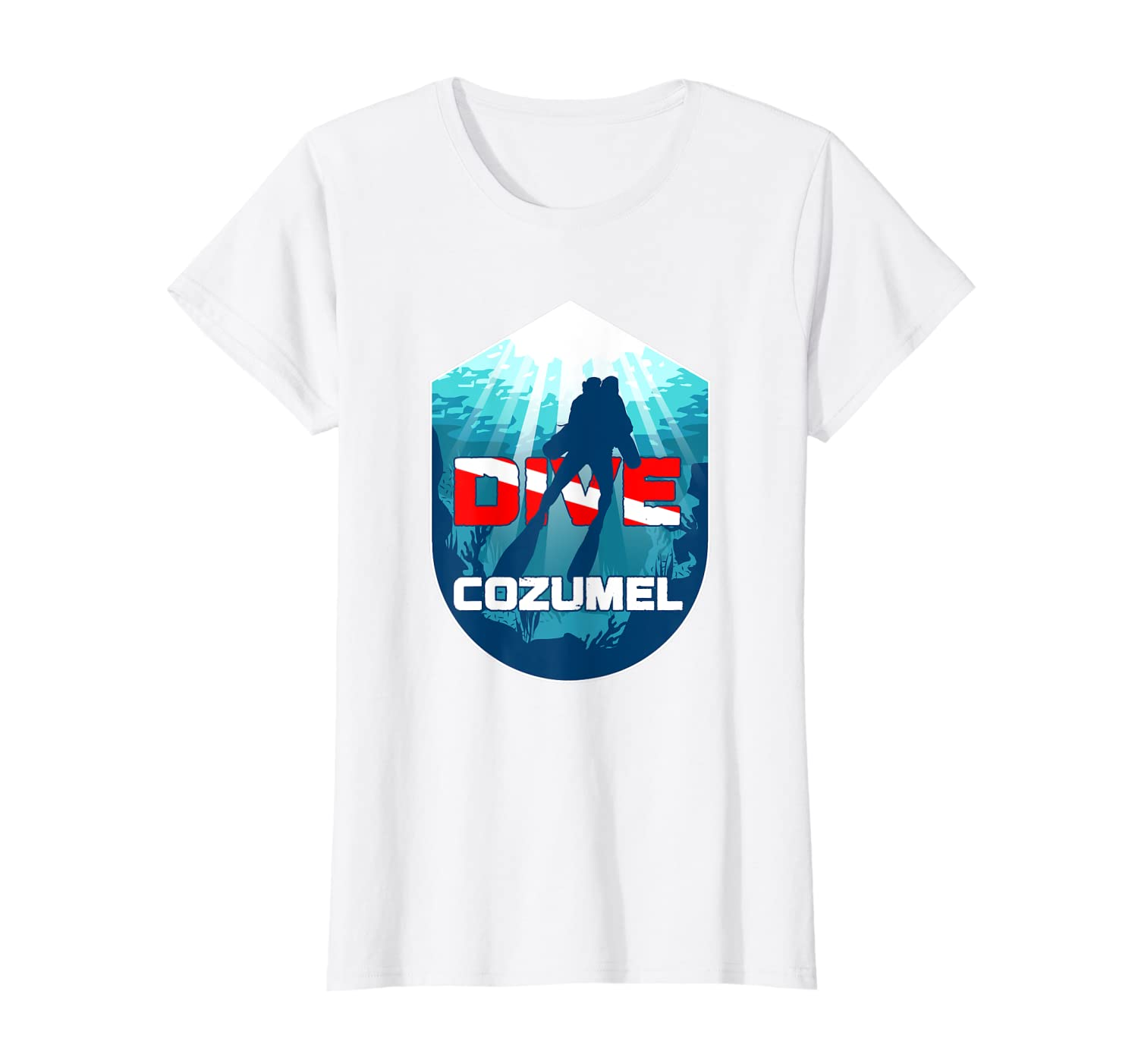 Cozumel Scuba Free Diving Snorkeling Mexican Vacation Gift T-Shirt Unisex Tshirt
