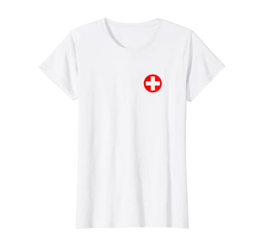 845df3fbfeb3d Image Unavailable. Image not available for. Color: Womens Easy Nurse  Women's Halloween Costume T-Shirt