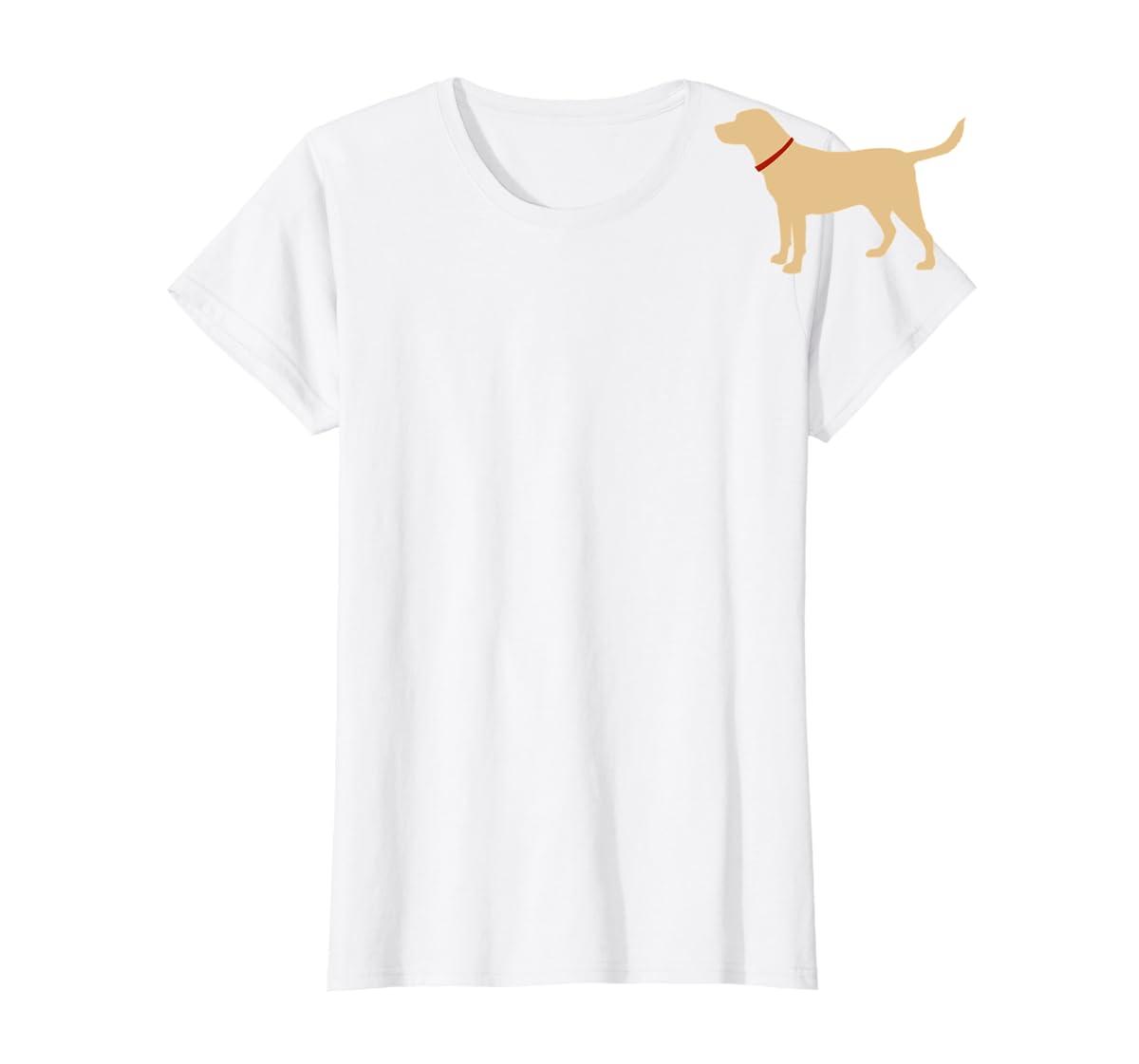 Labrador Retriever Emoji T-shirt Yellow Lab Lover Gift-Women's T-Shirt-White
