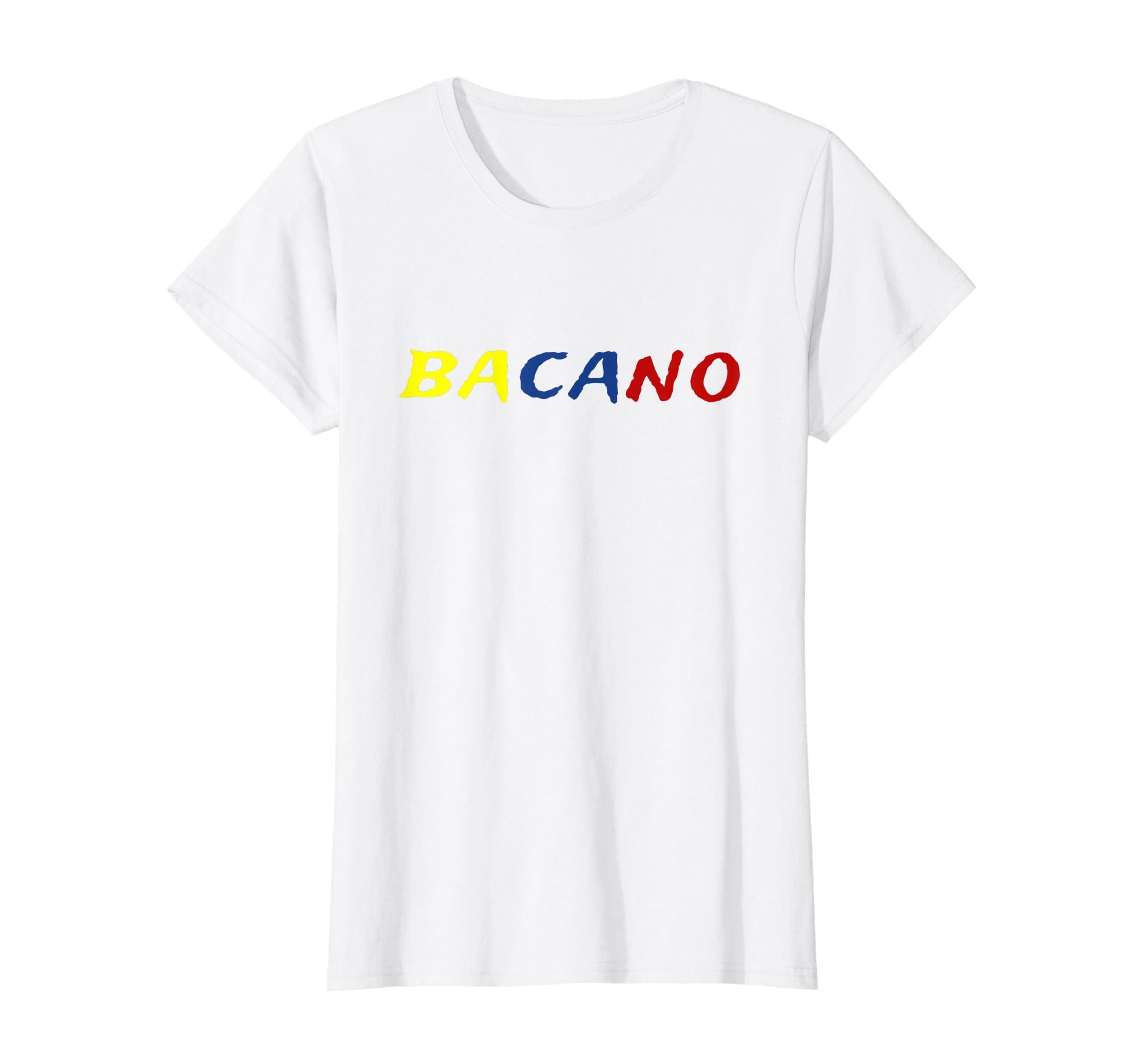 46616ebb8 Amazon.com  Bacano Funny Colombian T-Shirt Colombian Slang  Clothing