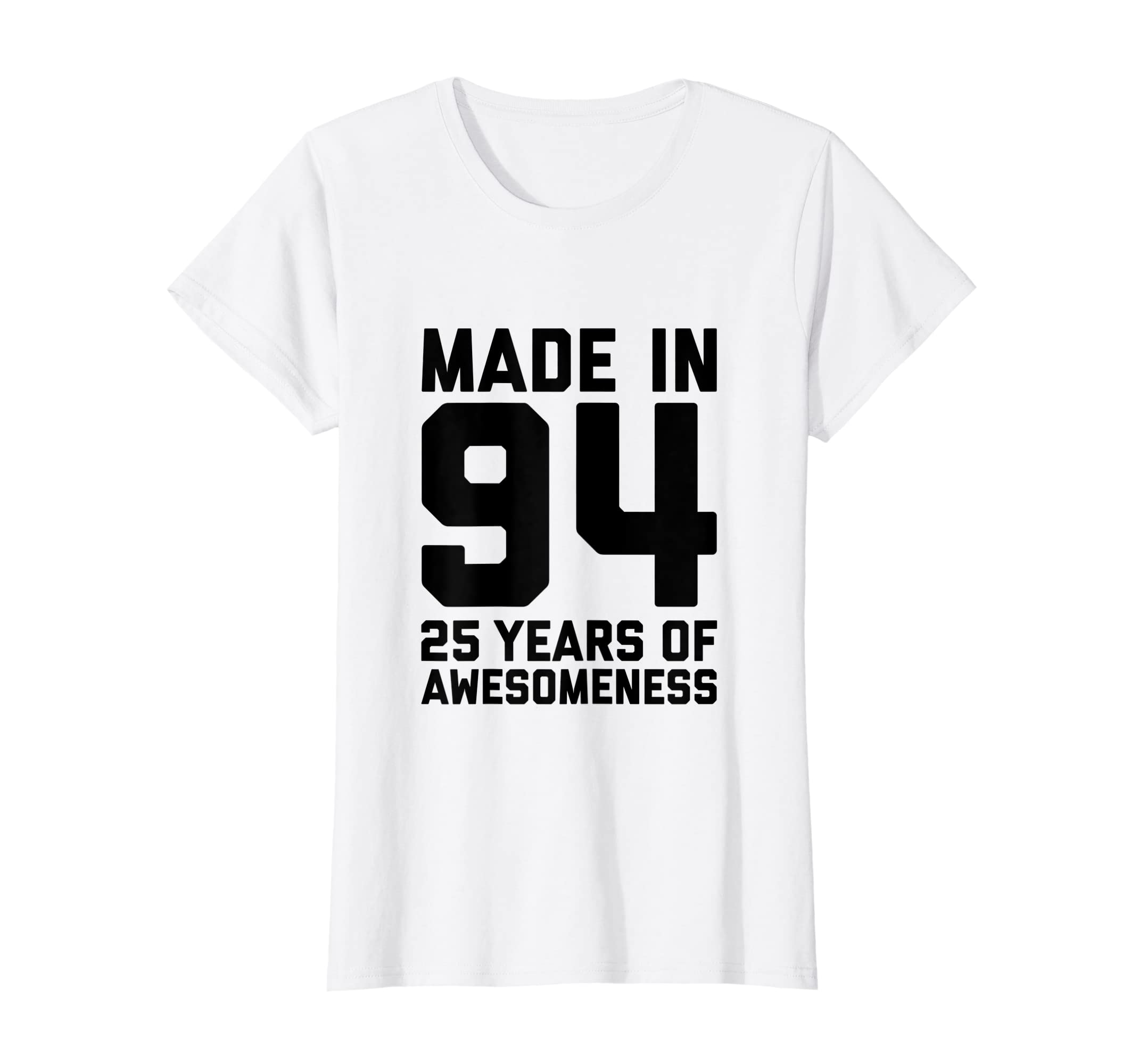 Amazon 25th Birthday Shirt Women 25 Year Old Men Gifts Twenty Five Clothing