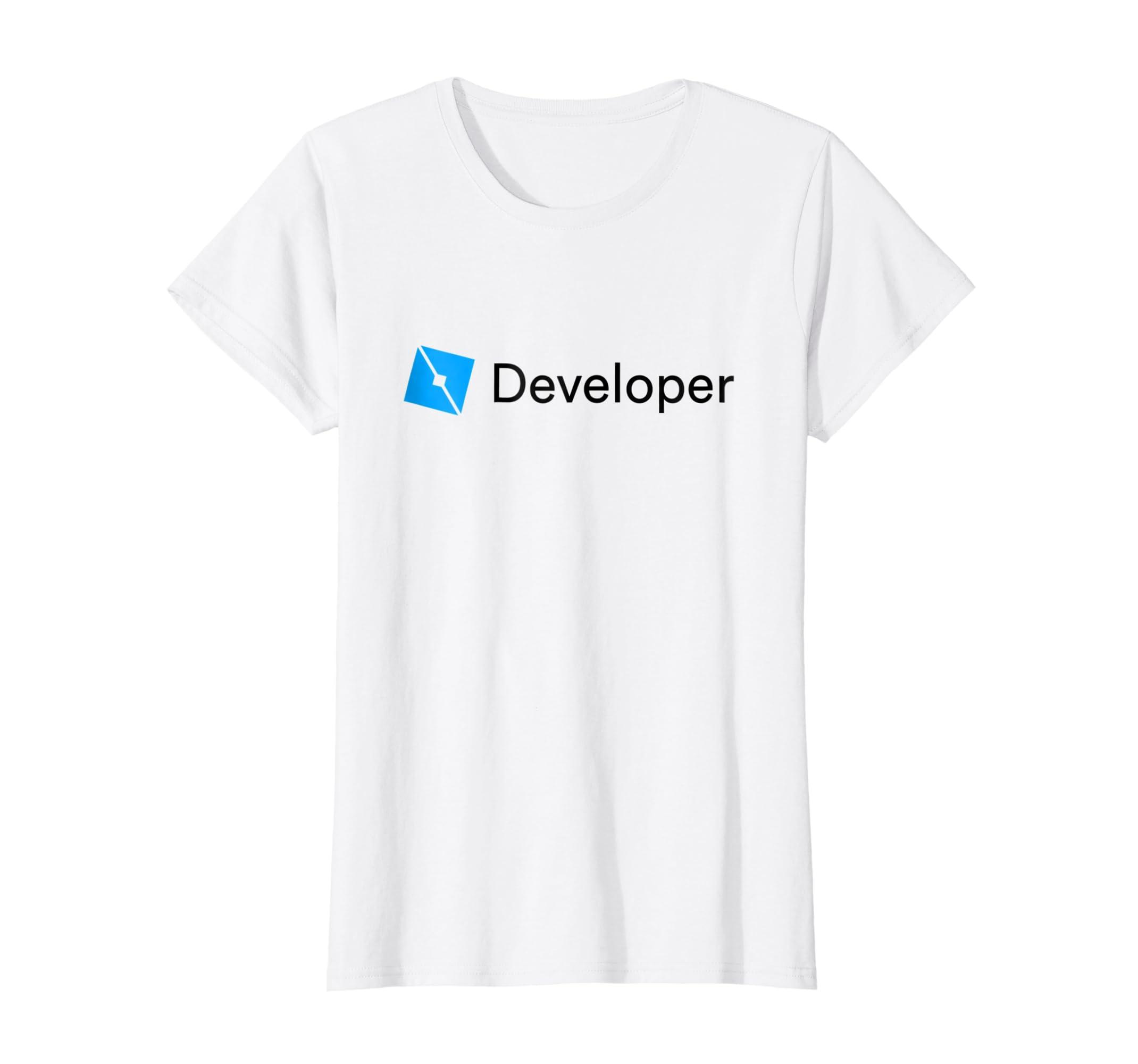 f2e79b55 Amazon.com: Roblox Studio Developer T-Shirt: Clothing