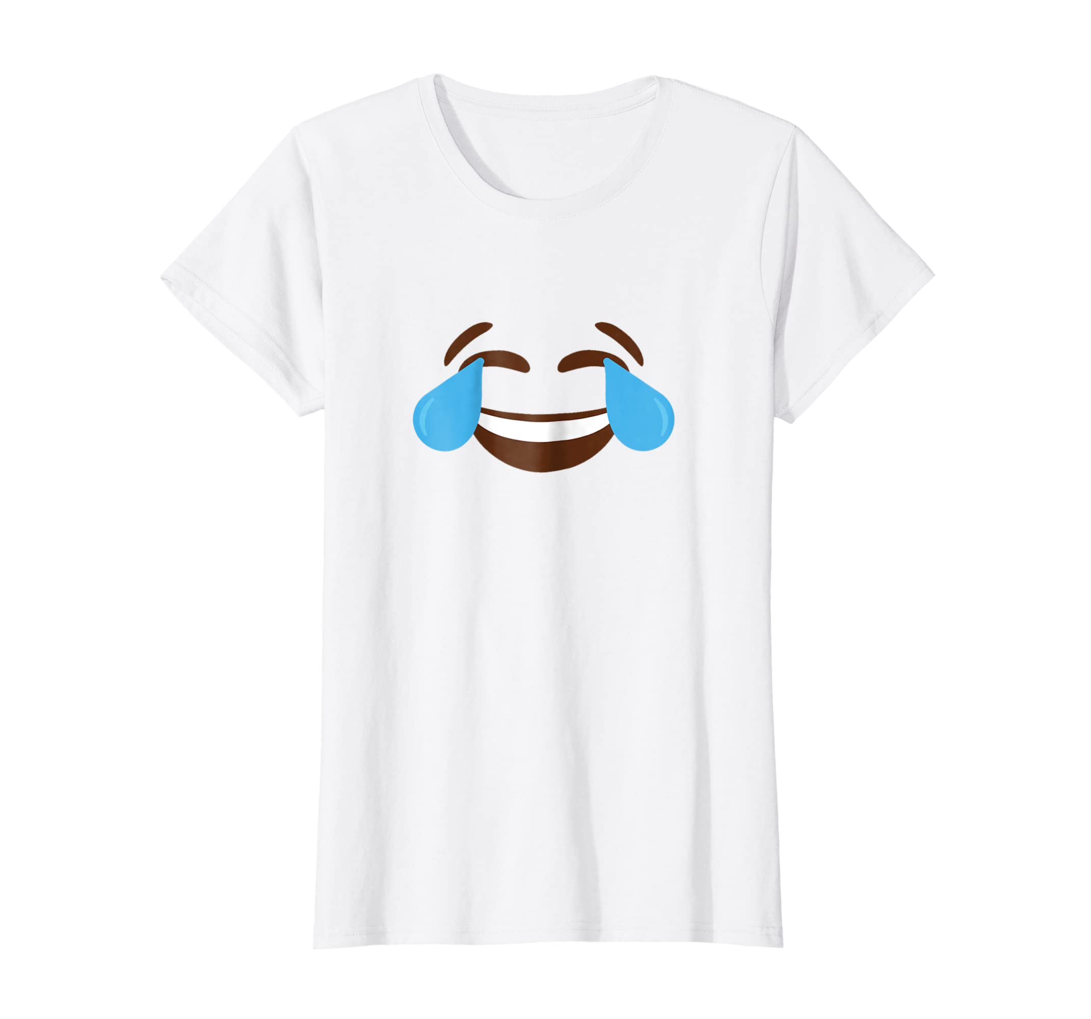 Amazon com: Laughing Cry Emoji Face Cool Graphic Design