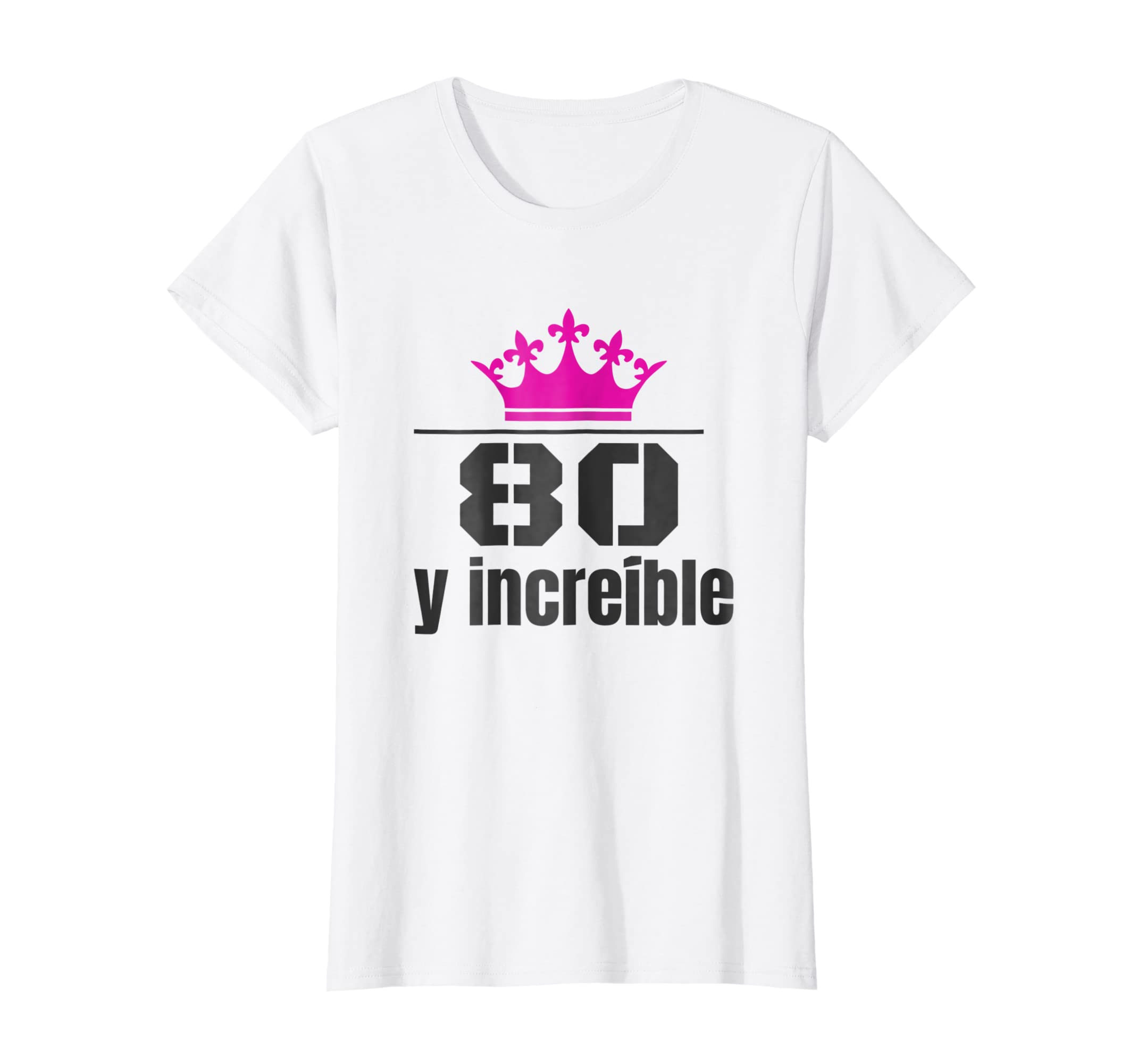 Amazon.com: Camisa de Cumpleanos 80 Anos Spanish Birthday Shirt Mujer: Clothing