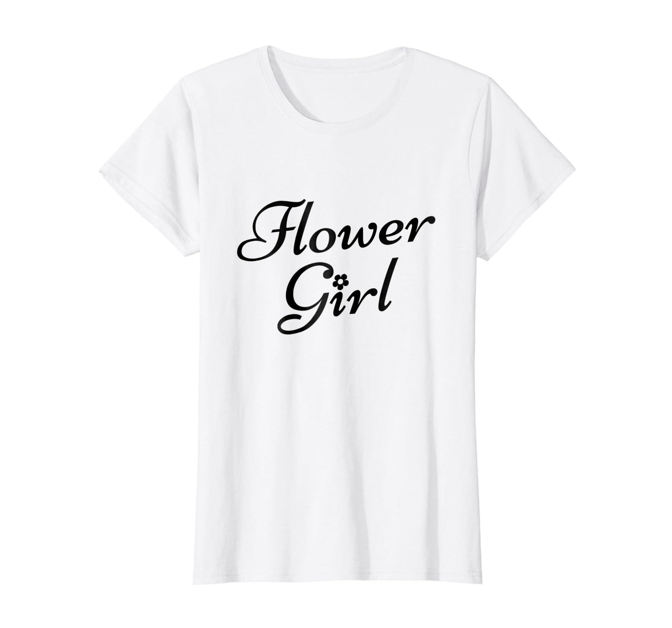 Amazon Flower Girl Wedding T Shirt For Girls Heart Accent