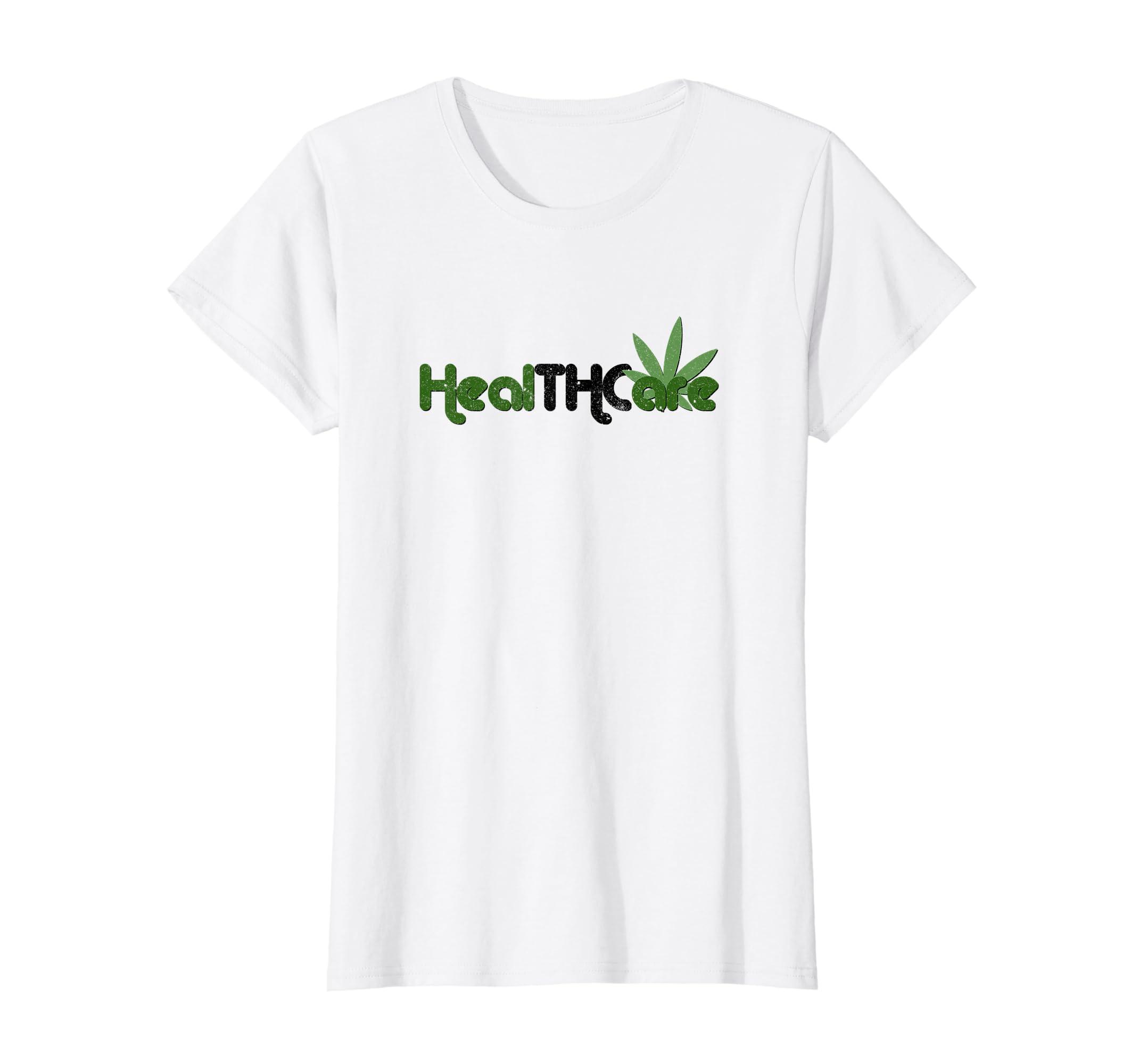 71eebef8 Amazon.com: Healthcare THC Retro Design T-Shirt, Hemp CBD Oil: Clothing