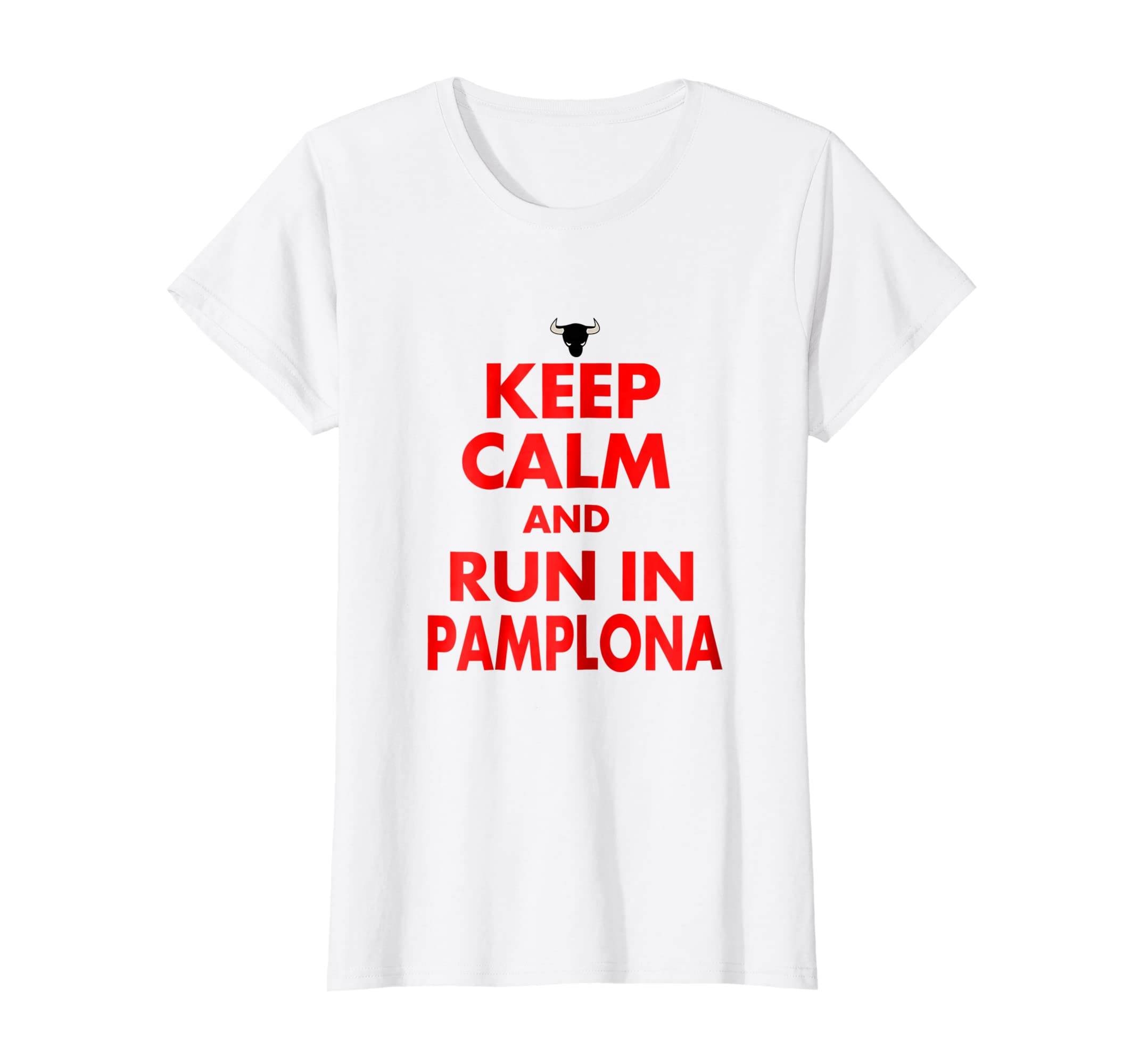 Amazon.com: San Fermin And Run In Pamplona Shirt Camisetas de Espana: Clothing