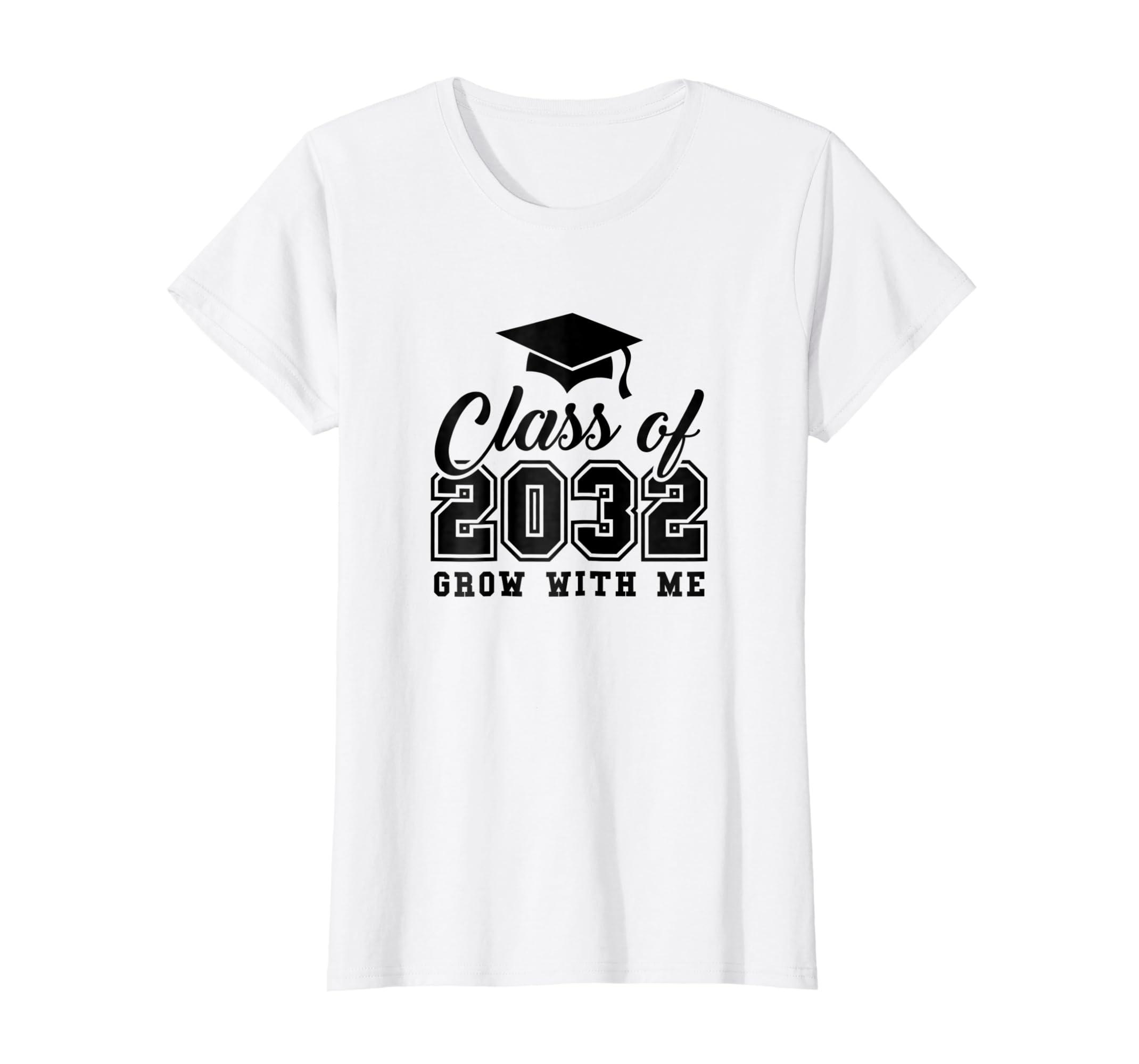 Amazon 2032 Grow With Me T Shirt Custom Class Of 2032 Grow With