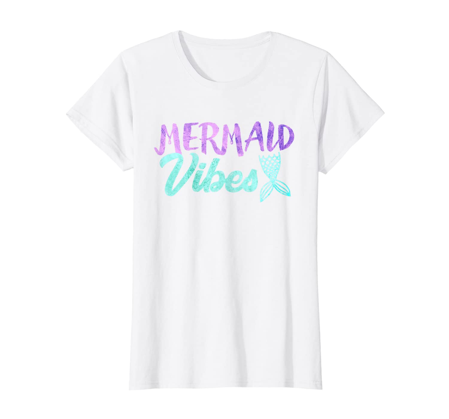 Mermaid Vibes T-shirt Mermaid Tail Women Girl Shirt-Loveshirt