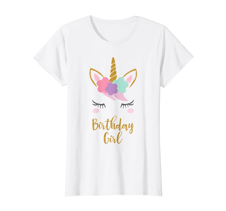c65b03534 Amazon.com: Unicorn Birthday T-Shirt, Unicorn Gift, Birthday Outfit:  Clothing