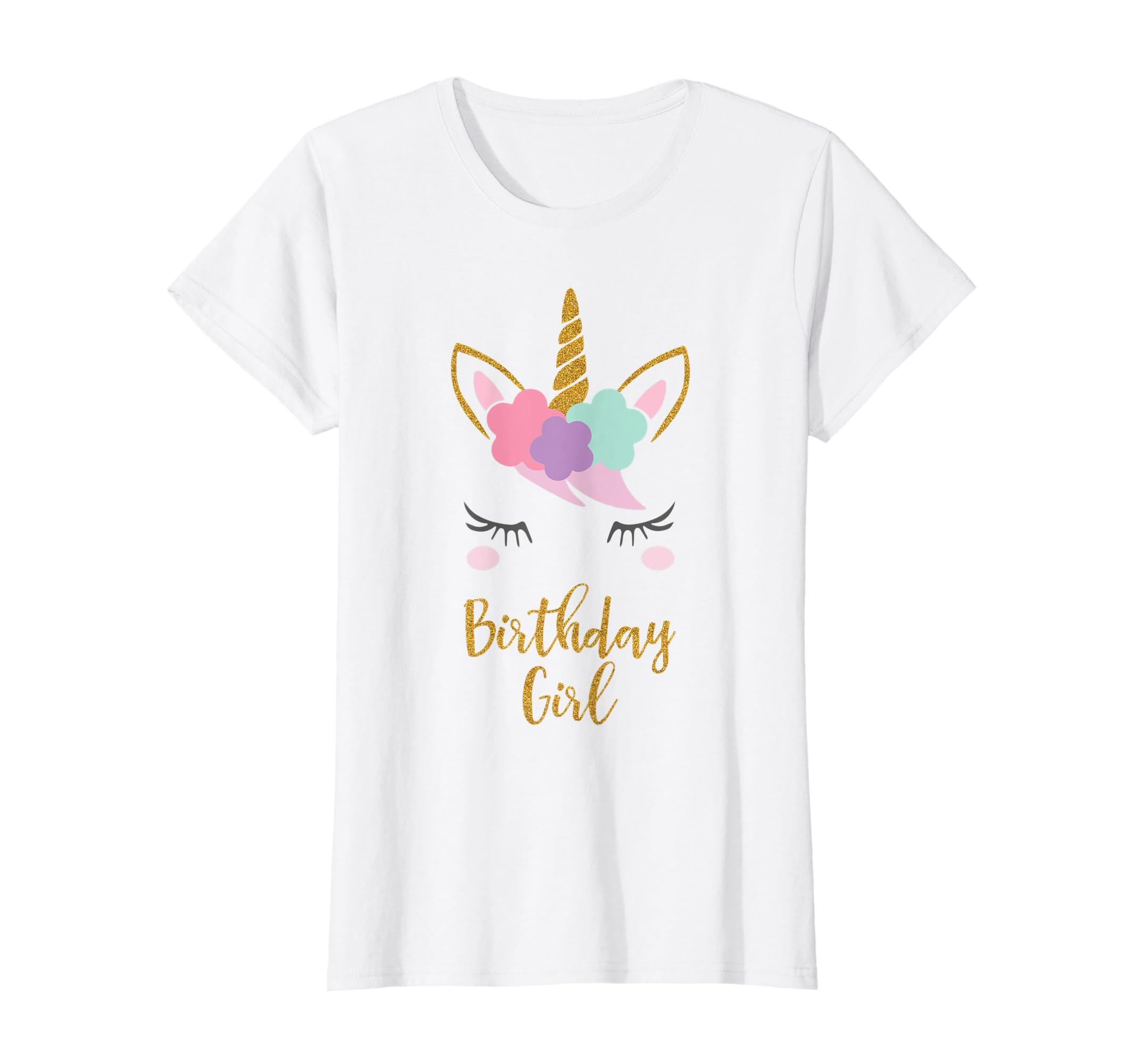 Amazon Unicorn Birthday T Shirt Gift Outfit Clothing