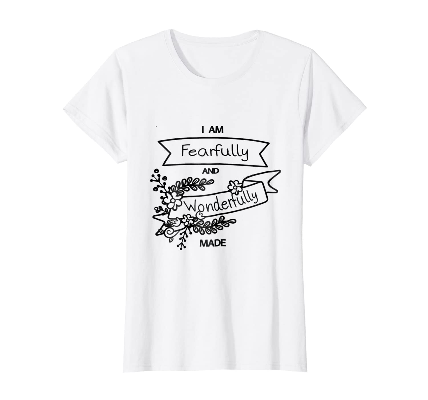 b03950039e86a I Am Fearfully and Wonderfully Made T-Shirt at Amazon Men's Clothing ...