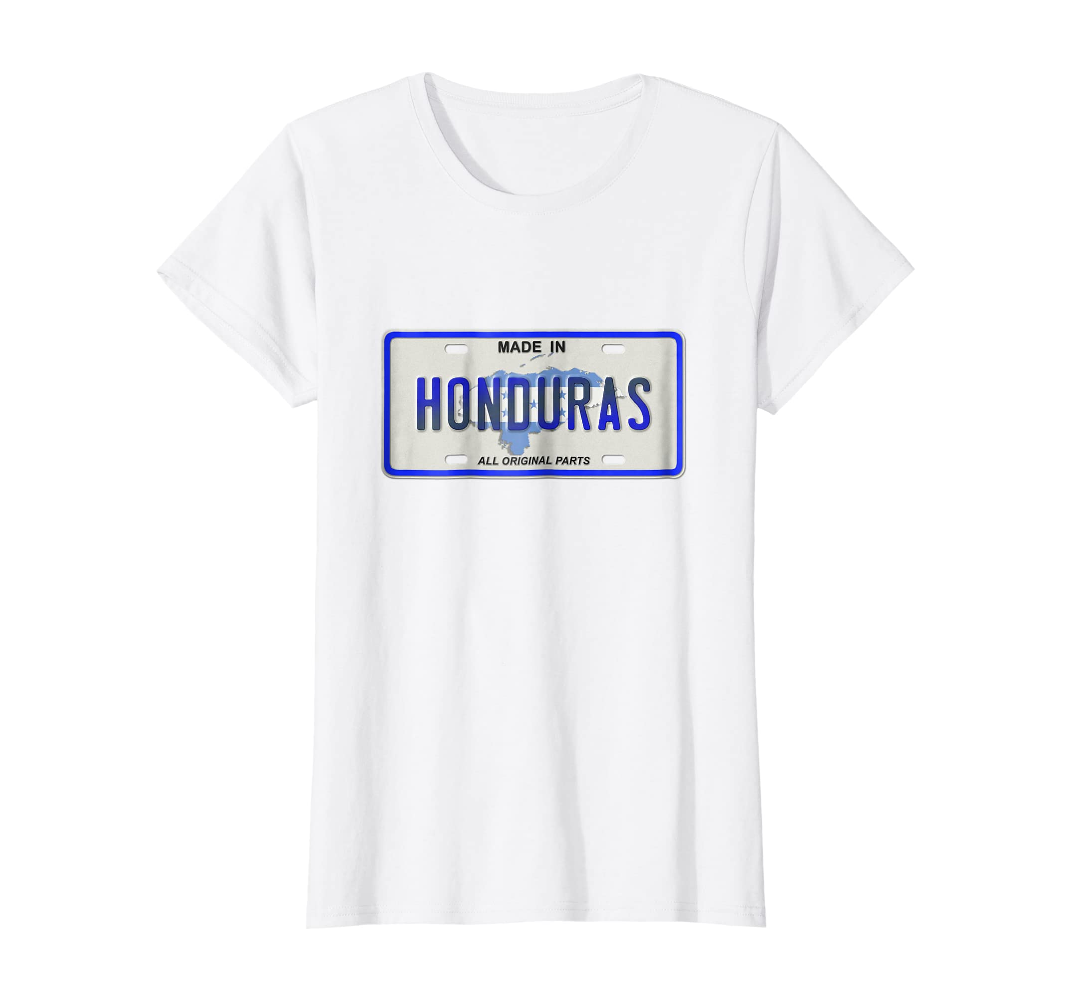 Amazon.com: Made in Honduras shirt Catracho tshirt Camiseta de Placa: Clothing