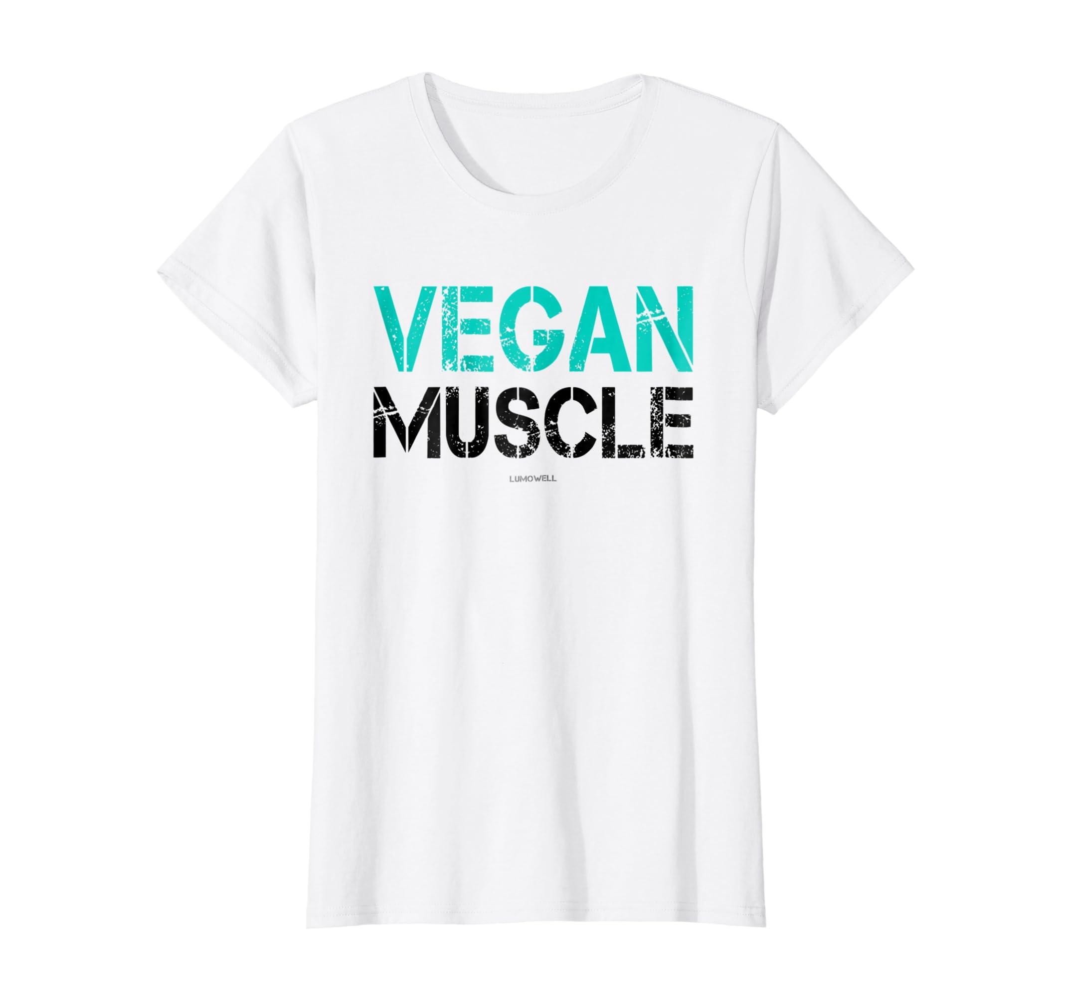 f5cb2fbf Amazon.com: Vegan Gym Shirts: Vegan Muscle Bodybuilding Shirt: Clothing