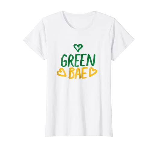 Image Unavailable. Image not available for. Color  Womens Cute Green Bae Womens  T-Shirt af7d08576b