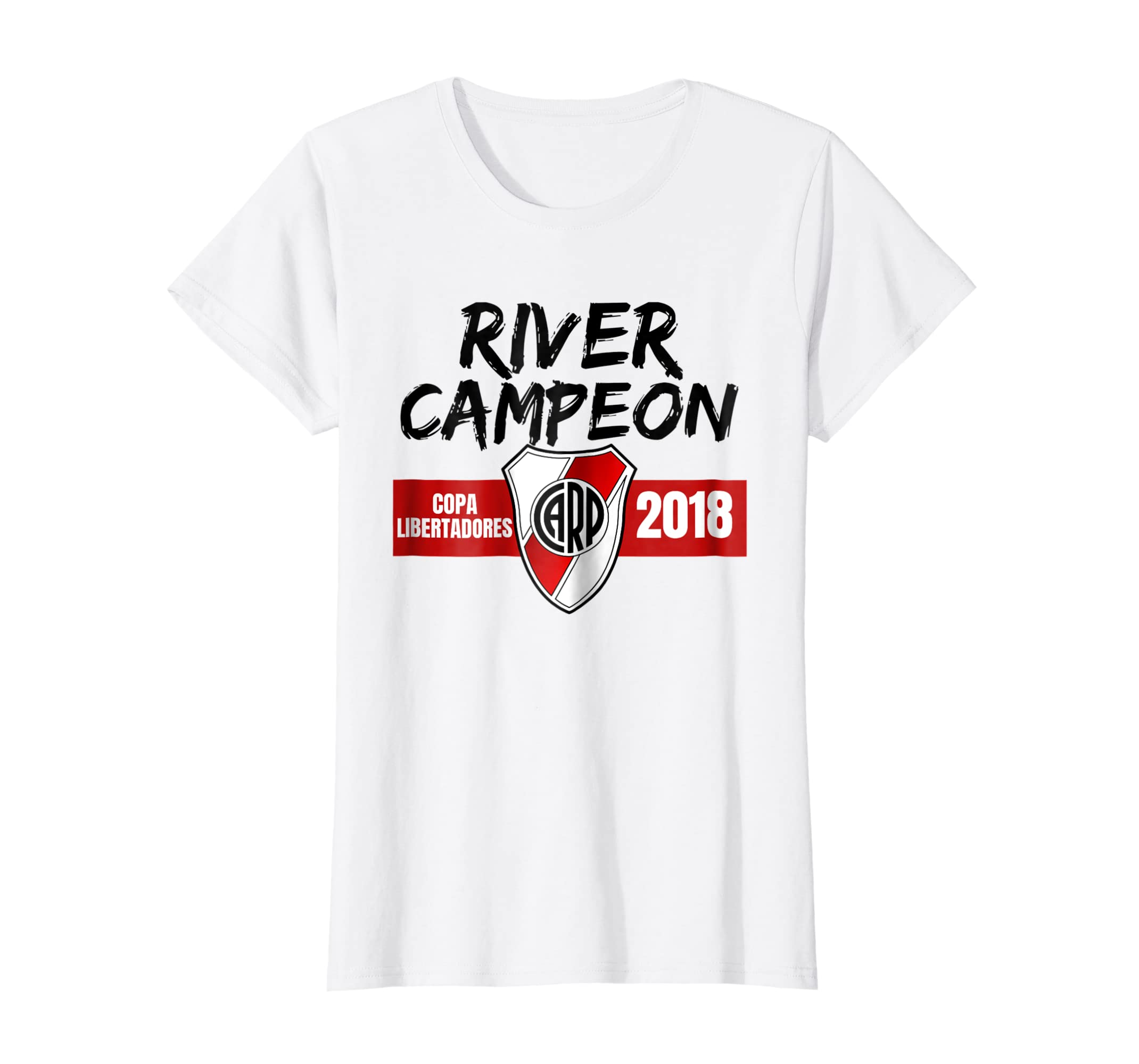 ad81f4876 Amazon.com: Camiseta River Plate Campeon Soccer Fan T-Shirt: Clothing