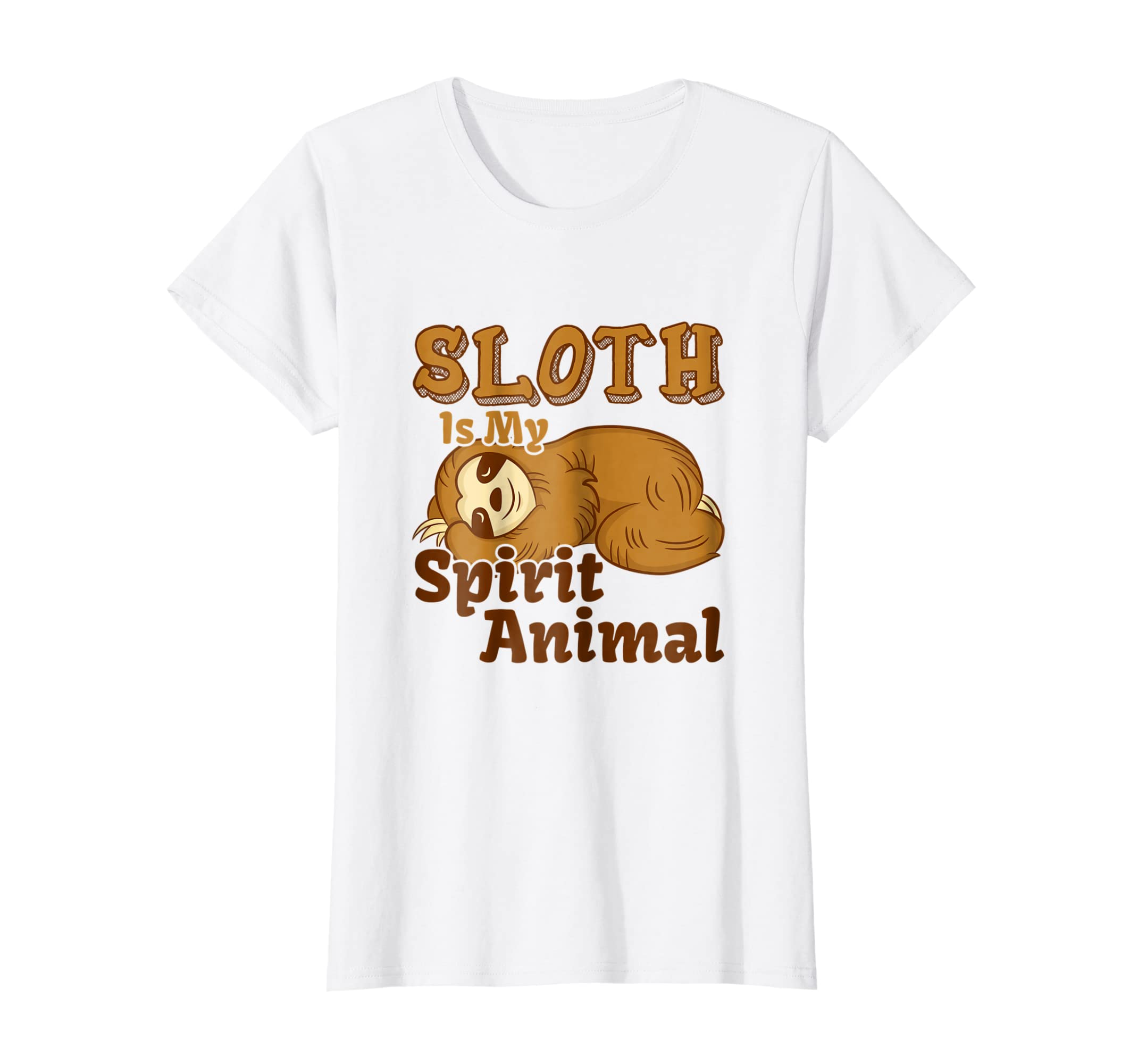 Amazon com: Cute and Funny Cartoon Sleeping Sloth is my