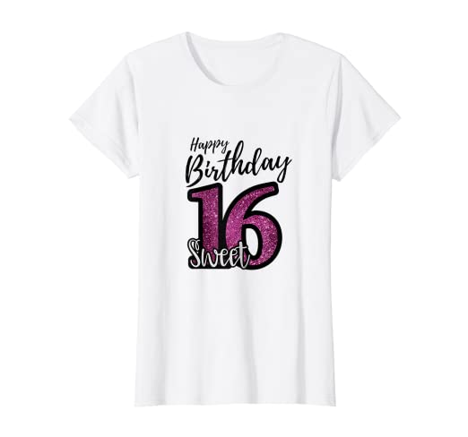 Amazon Com Womens Sweet 16 Shirt I Purple And Black Party