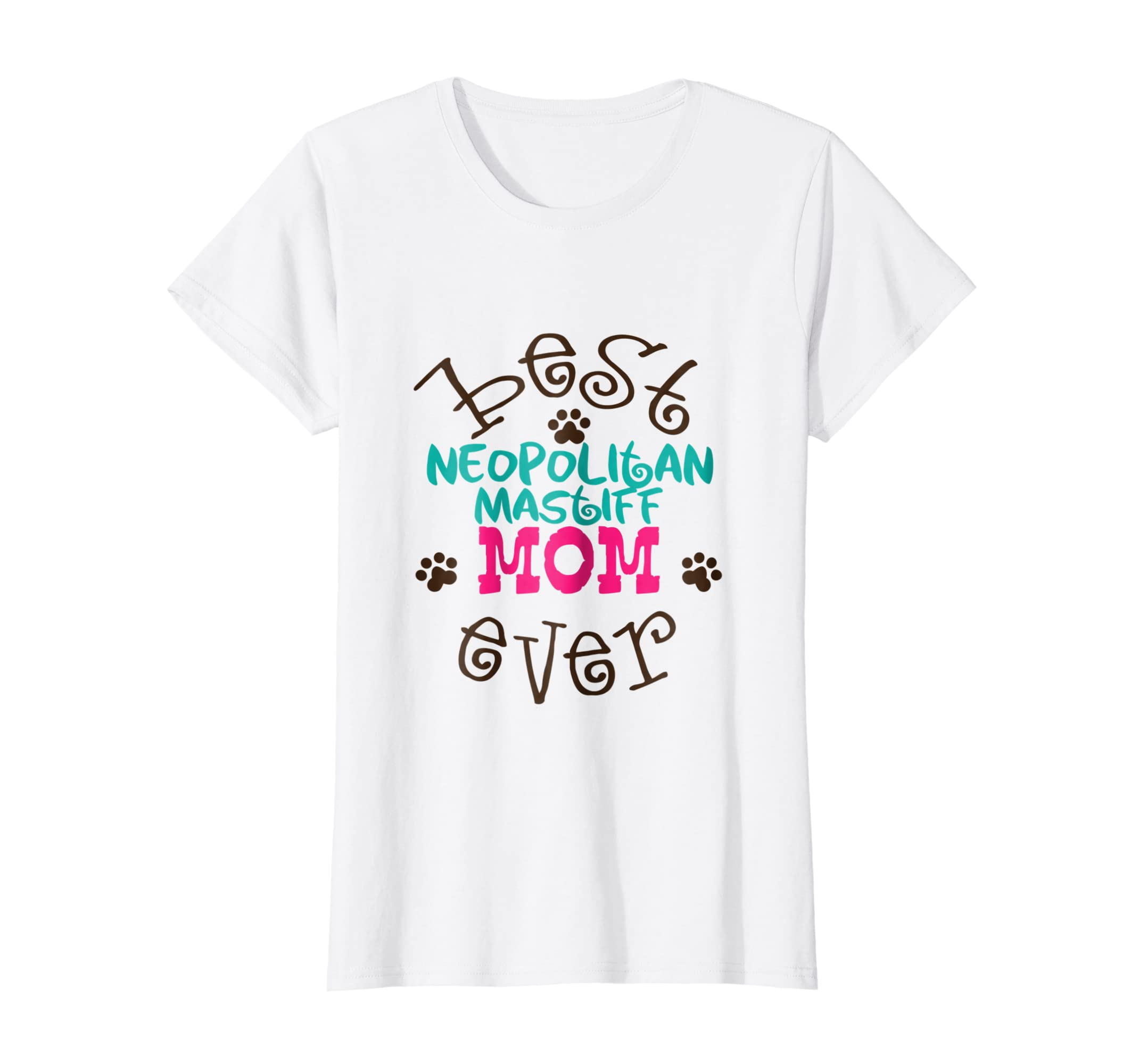 019853b8 Amazon.com: Dog Lover Best Neopolitan Mastiff Dog Mom Shirt Mothers Day:  Clothing