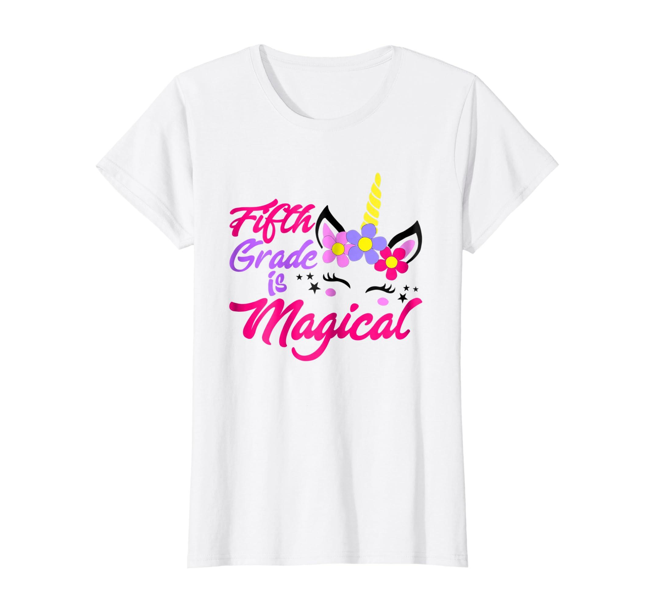 Amazon Team 5th Grade Teacher Funny Cute TShirt Back To School Gift Clothing