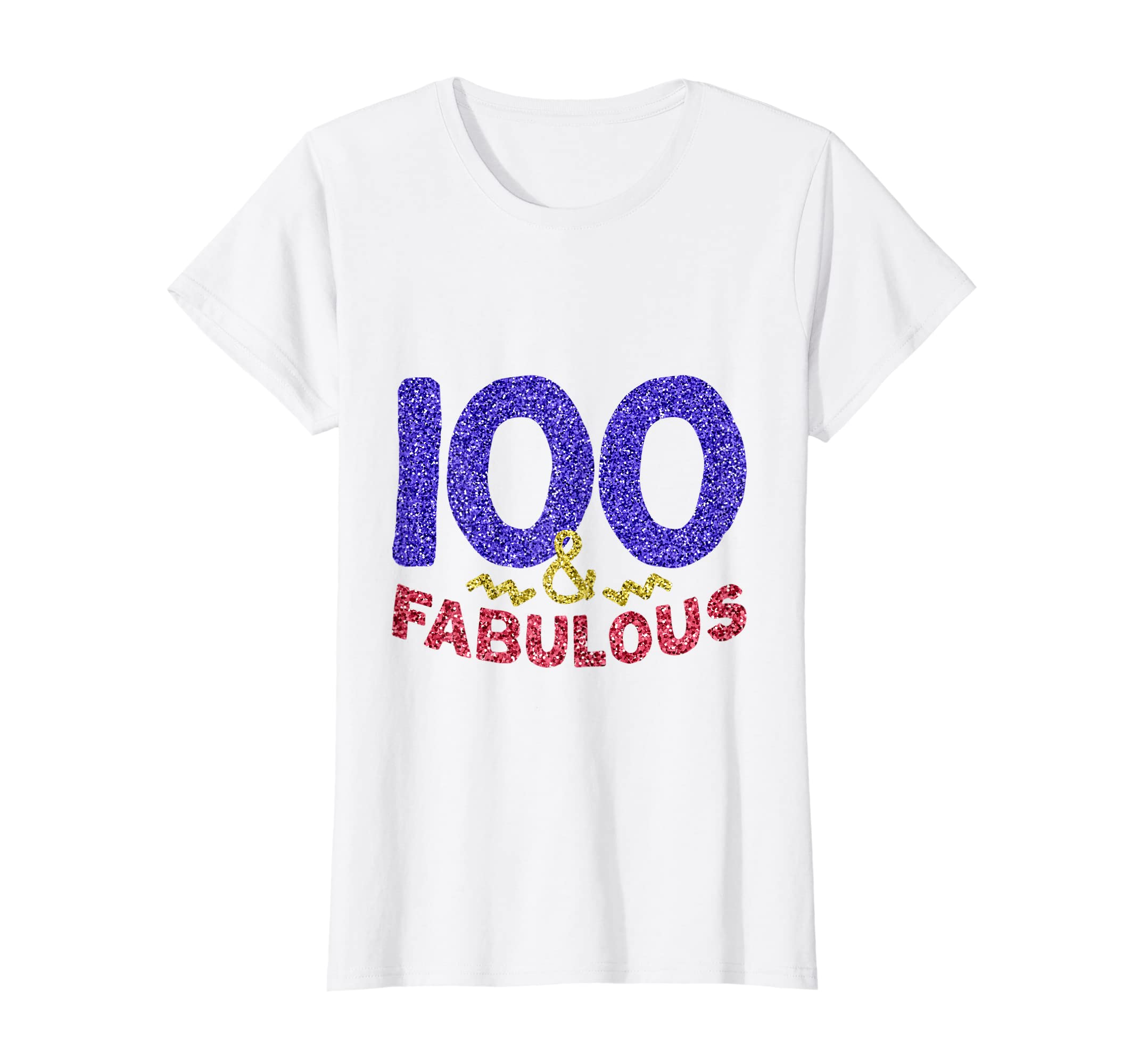 Amazon 100th Birthday Shirt Women Gift Funny 100 Year Old Grandma Clothing