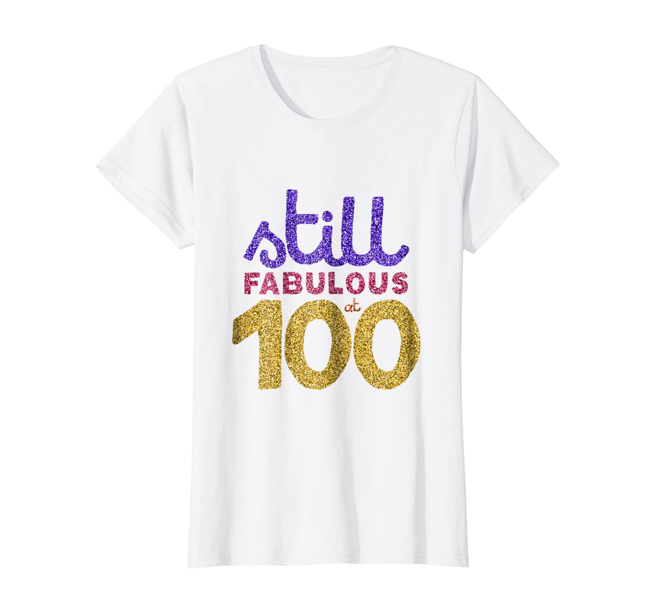 Amazon 100th Birthday Shirt Funny 100 Year Old Gift Tee Men Women Clothing