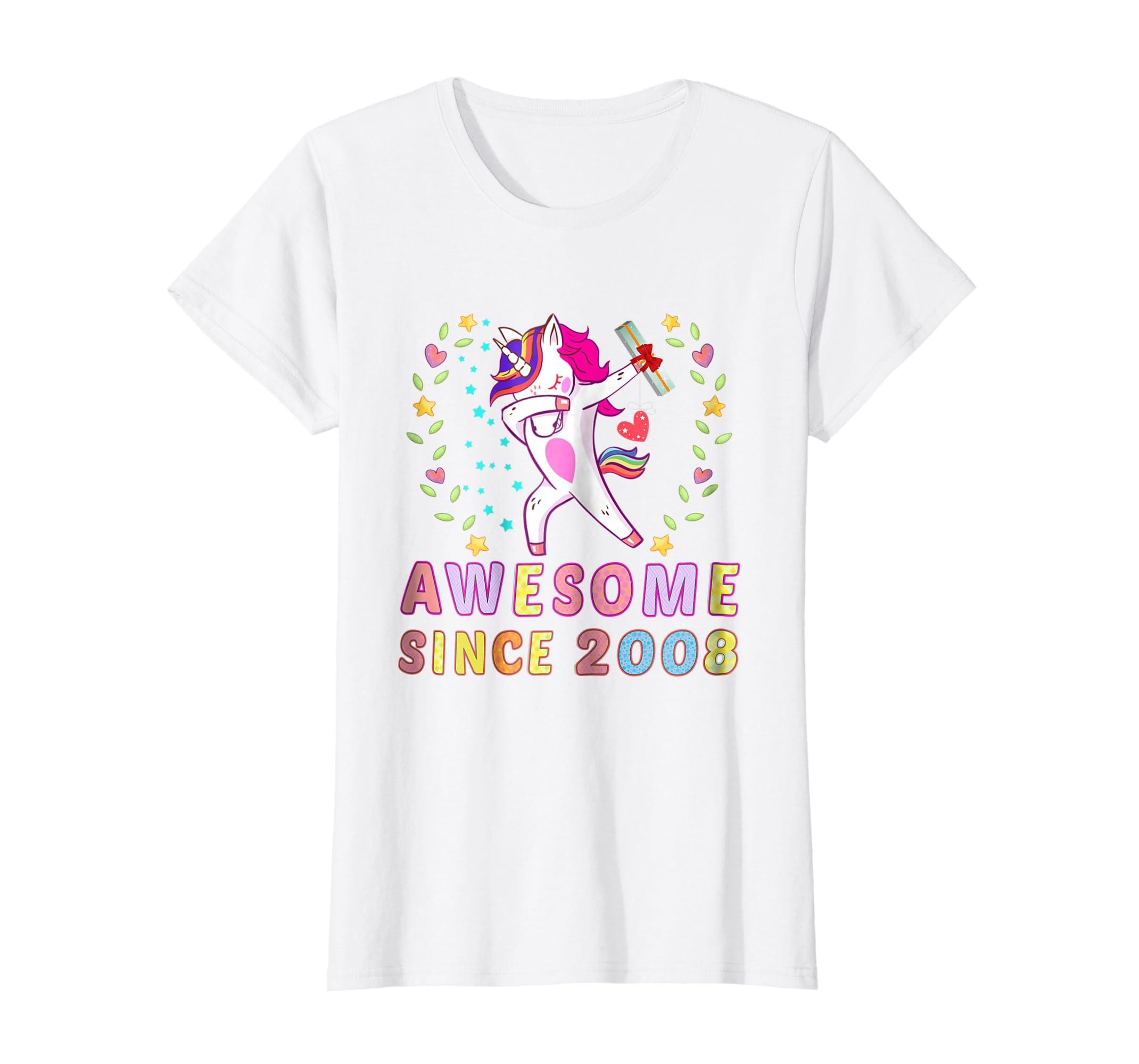 Amazon 10th Birthday Shirt Unicorn Girls Gifts Age 10 Womens Tshirt Clothing