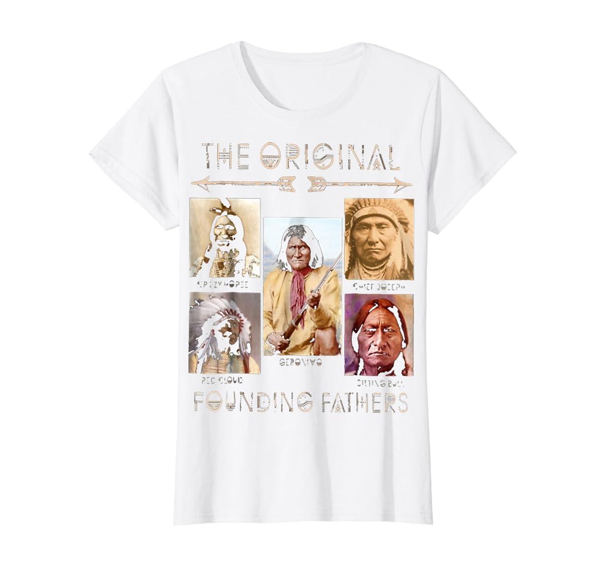 the original founding fathers native classic shirt-Women's T-Shirt-White