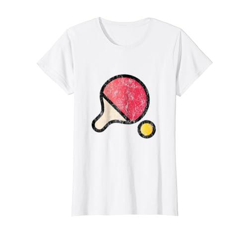 Amazon.com: clásico playera playera de tenis de mesa de ping ...