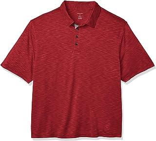 2XL Men/'s Van Heusen Cranberry Classic Fit Long Sleeve Flex Polo Shirt Sizes S