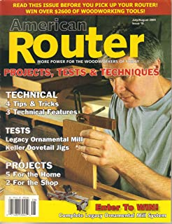 American Router Magazine, July August 2005 (Issue 10)