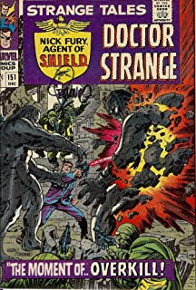 Autograph Strange Tales #151 VF Signed by Jim Steranko (Strange Tales Doctor Strange and Nick Fury, Agent of SHIELD)
