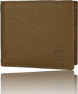 Le Craf Brown Leather Men's Wallet