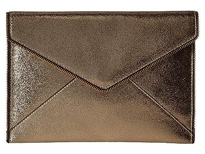 Rebecca Minkoff Leo Clutch (Champagne 2) Clutch Handbags