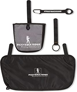 Piggyback Rider Accessory Pack-1 Includes Side Pocket, Water Bottle Holder, Mud Flap and Selfie Stick Holder for Adventures of Hiking, Travel, Vacation, Concerts
