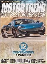 Motor Trend Magazine November 2017 McLaren Cover