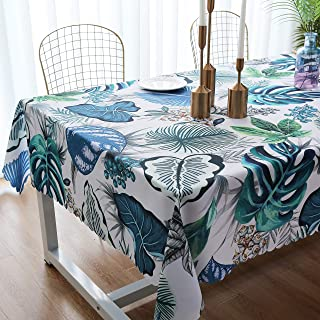iLiveX Tablecloth, Original Design Hand Drawing Art Print Table Cloth, Water-Proof Rectangle Table Cover, Kitchen Dining Indoor Outdoor Buffet Tabletop Decoration, 60