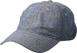 Van Heusen Chambray Denim Men's Baseball Cap, Adjustable