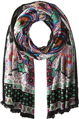 Echo Design - Paisley Double-Faced Silk Wrap