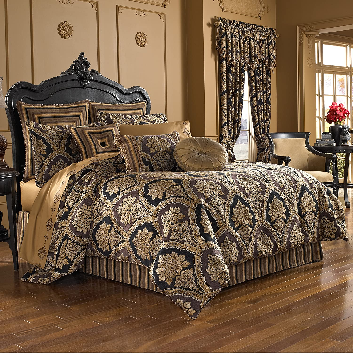 Five Ranking TOP17 Queens Court Reilly Woven Quality Em Chenille Damask Challenge the lowest price of Japan Luxury