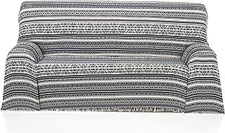 comprar comparacion Cardenal Textil Azteca Foulard Multiusos, Gris, 180x290 cm