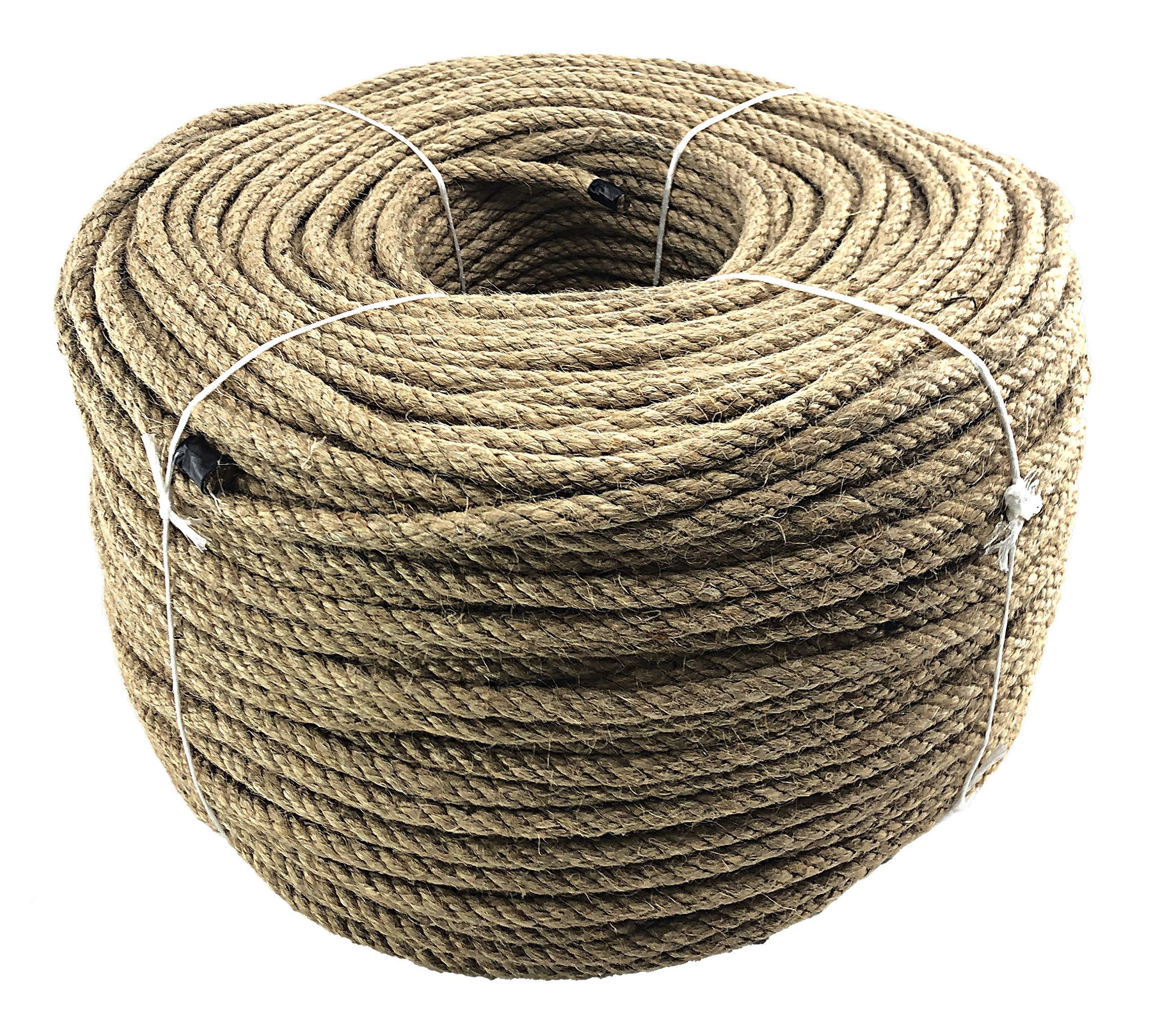 Polyhemp Synthetic Hemp Rope 6mm x 5 Metres Westward Ropes