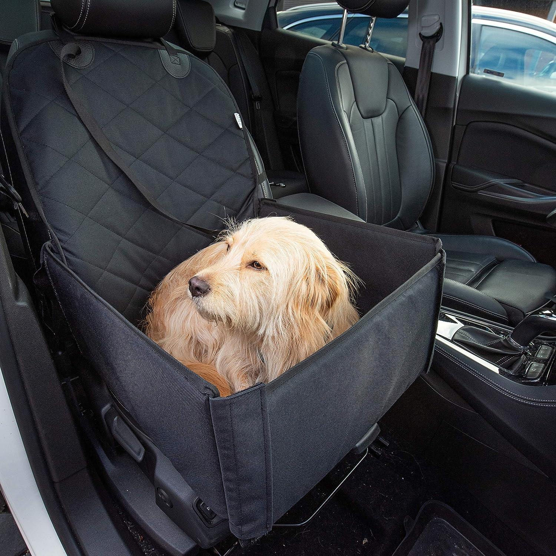 Hunde Autositz Für Kleine Und Mittelgroße Hunde Extra Sicherheitsgurt Schnell Verstaubar Wasserabweisend Autositz Hund Bis Mittlere Hunde Hundetransportbox Hundesitz Im Auto Hundebox Auto Haustier