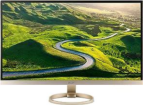 Acer H277HU kmipuz 27-Inch IPS WQHD 2560 x 1440 Display, USB 3.1 Type-C port, HDMI, DP, 2 x 3w speakers,Black