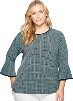 MICHAEL Michael Kors - Plus Size Mini Mod Geo Top