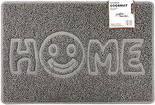 Nicoman Home Smiley Face - Felpudo para Puerta (75 x 44 cm), diseño de Cara Sonriente