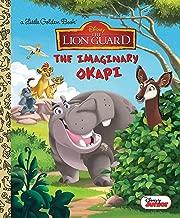The IMAGINARY okapi (شبابي مطبوع عليه: تي شيرتات The Lion من Disney Guard كتاب) (ذهبي)