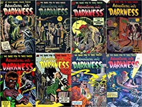 Adventures into Darkness Issues 5,6,7,8,9,10,11 & 12. Features Murder Mansion Day of Reconing, Thing From The Sea. The Strange Cats. A standard comics ... and horror eight comic collections Book 1)