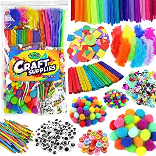 Arts & Crafts Supplies for Kids Crafts - Kids Craft Supplies & Materials - Kids Art Supplies for Kids - Arts and Crafts Ki...